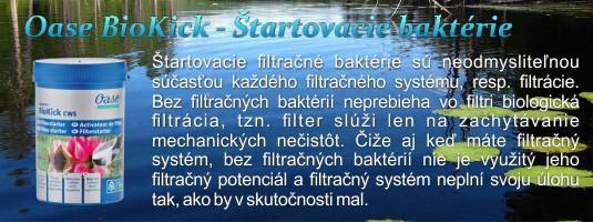 BioKick Oase Štartovacie filtračné baktérie