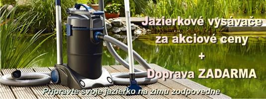 Jazierkové vysávače