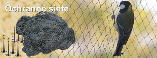 Ochranné siete proti vtákom