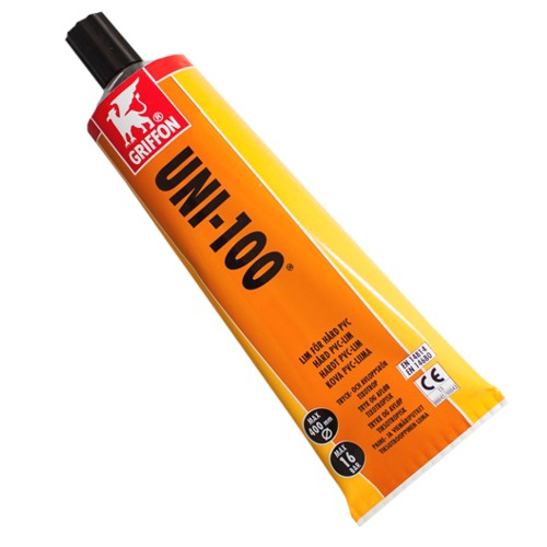 Griffon UNI 100 PVC lepidlo 125ml