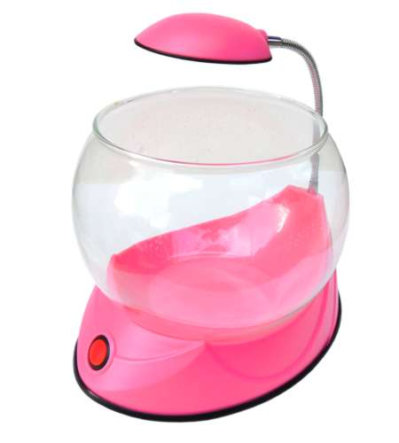 Hailea Mini Fish Bowl V01 Pink - Akvárium