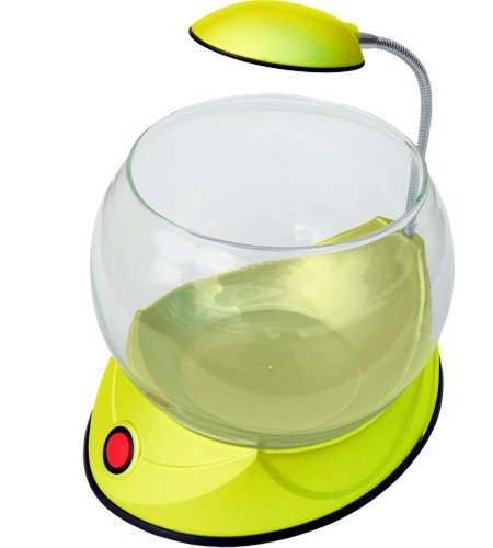 Hailea Mini Fish Bowl V01 Yellow - Akvárium