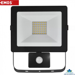 EMOS Hobby Slim 30W PIR Neutral White LED reflektor